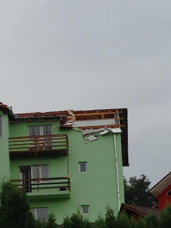 Roof Tiles Destroyed